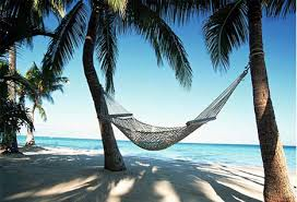 Relaxing Caribbean beaches